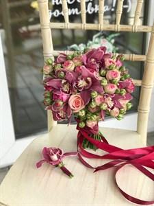 Букет невесты Ягодный день