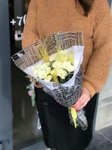 Хризантема в упаковке