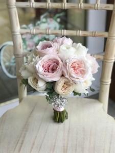 Букет невесты Романтичный розовый