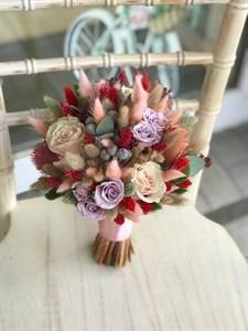 Букет невесты Нежный шелк