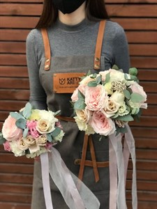 Букет невесты Форма любви
