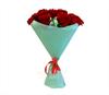 Букет из 25 красных роз 70см  (Эквадор) - фото 6329